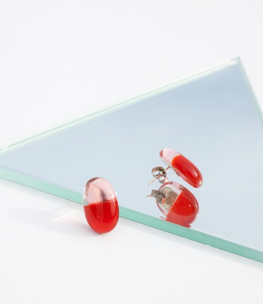 pendientes capsule sio2 glass jewelry
